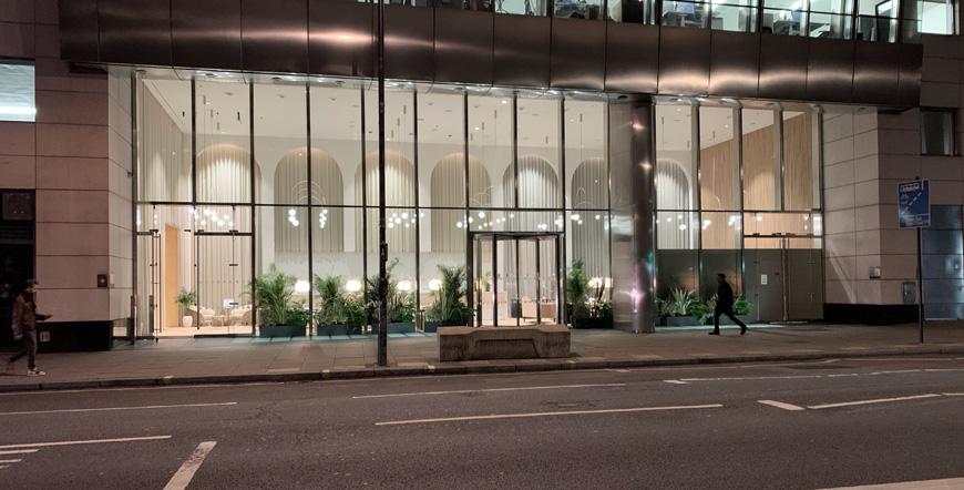 london hotel udefra